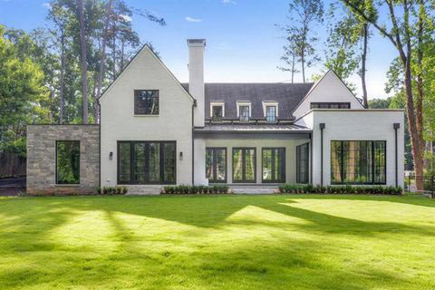 English Modern Home Design - Atlanta, GA